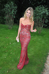 Former Miss World Rosanna Davison daughter of singer Chris de Burgh at the Raisa Gorbachev Foundation fourth annual fundraising gala dinner held at Stud House, Hampton Court, Surrey on 6th June 2009.