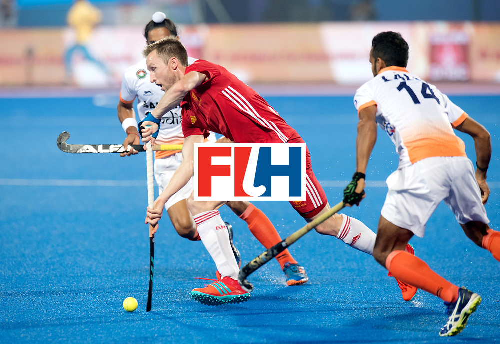 Odisha Men's Hockey World League Final Bhubaneswar 2017<br /> Match id:05<br /> 06 IND v ENG (Pool B)<br /> Foto: Barry Middleton (Eng).<br /> WORLDSPORTPICS COPYRIGHT FRANK UIJLENBROEK
