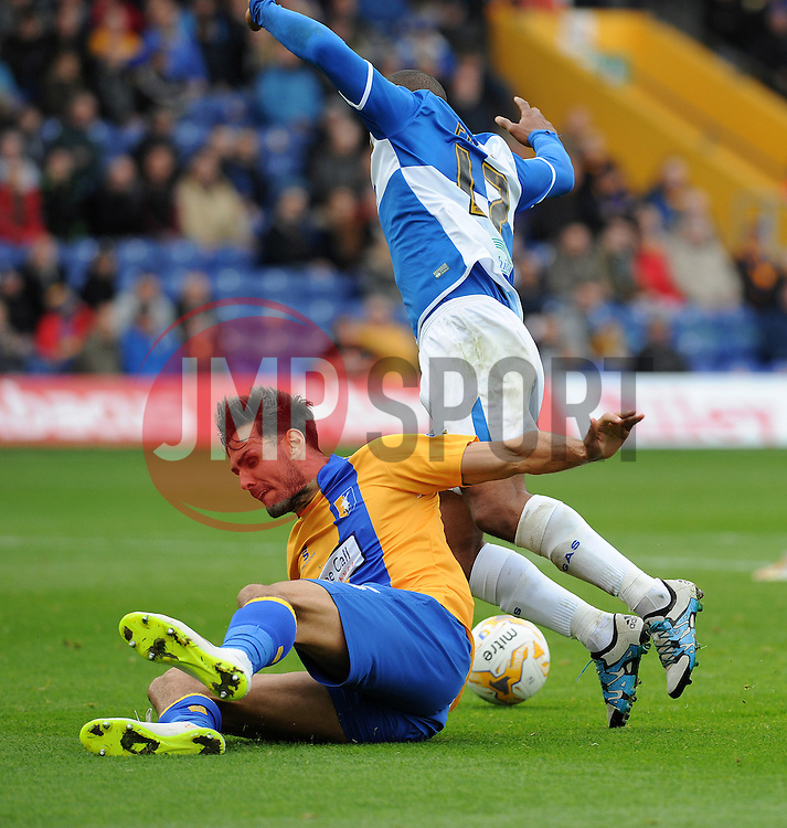 Jermaine Easter of Bristol Rovers - Mandatory byline: Neil Brookman/JMP - 07966 386802 - 17/10/2015 - FOOTBALL - One Call Stadium - Mansfield, England - Mansfield Town v Bristol Rovers - Sky Bet League Two