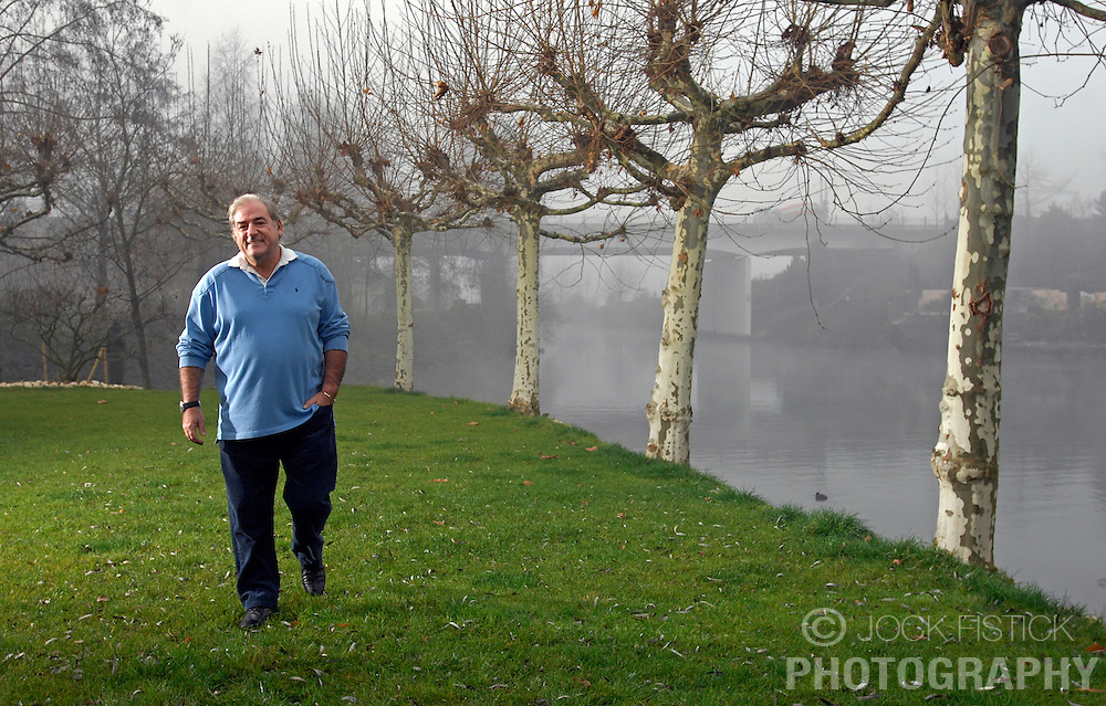 ZURICH,  SWITZERLAND - DEC-15-2006 - Hans-Peter Fassler at his water-front home near Zurich. (PHOTO © JOCK FISTICK)