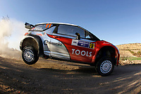 MOTORSPORT - WORLD RALLY CHAMPIONSHIP 2011 - RALLY GUANAJUATO MEXICO / RALLYE DU MEXIQUE - 03 TO 06/03/2011 - PHOTO : FRANCOIS BAUDIN / DPPI - <br /> 11 PETTER SOLBERG (NOR) / CHRIS PATTERSON (GBR) - CITROEN DS3 WRC - PETTER SOLBERG WRT - ACTION