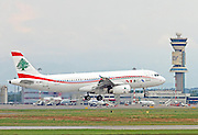 OD-MRO MEA - Middle East Airlines Airbus A320-232 at Milan airport