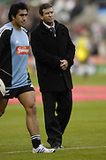 Twickenham. GREAT BRITAIN,  New Zealand assistant coach Wayne SMITH, 2006 Investec Challenge, game between, England  and New Zealand [All Blacks], on Sun., 05/11/2006, played at the Twickenham Stadium, England. Photo, Peter Spurrier/Intersport-images].....   [Mandatory Credit, Peter Spurier/ Intersport Images].