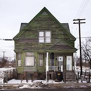 Detroit, portrait of houses