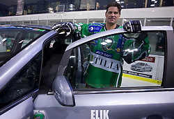 Todd Elik of HDD Tilia Olimpija before new season 2008/2009,  on September 17, 2008 in Arena Tivoli, Ljubljana, Slovenia. (Photo by Vid Ponikvar / Sportal Images)