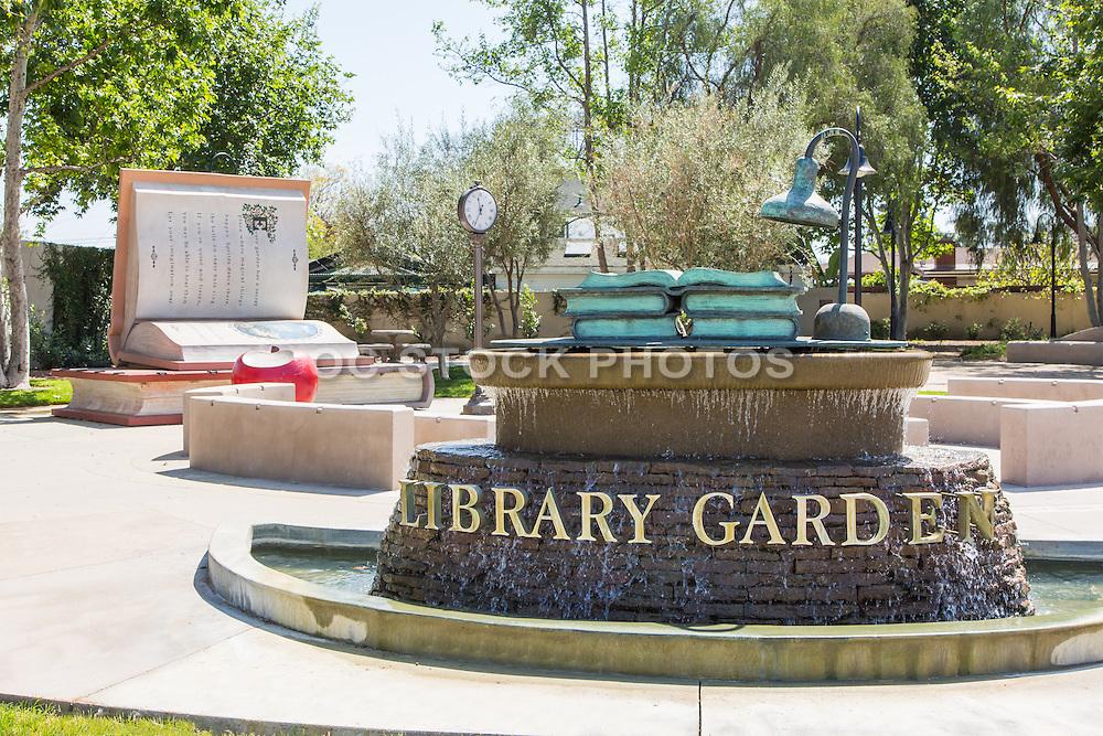 Bellflower Library Garden