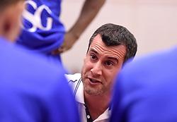 Andreas Kapoulas head coach of Bristol Flyers  - Mandatory byline: Joe Meredith/JMP - 11/12/2015 - Basketball - SGS Wise Campus - Bristol, England - Bristol Flyers v Plymouth Raiders - British Basketball League