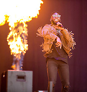 09-07-2016<br /> T in the Park 2016 - Saturday<br />  <br /> A red hot Tinie Tempah on the main stage.<br /> <br /> Pic:Andy Barr<br /> <br /> www.andybarr.com<br /> <br /> Copyright Andrew Barr Photography.<br /> No reuse without permission.<br /> andybarr@mac.com<br /> +44 7974923919
