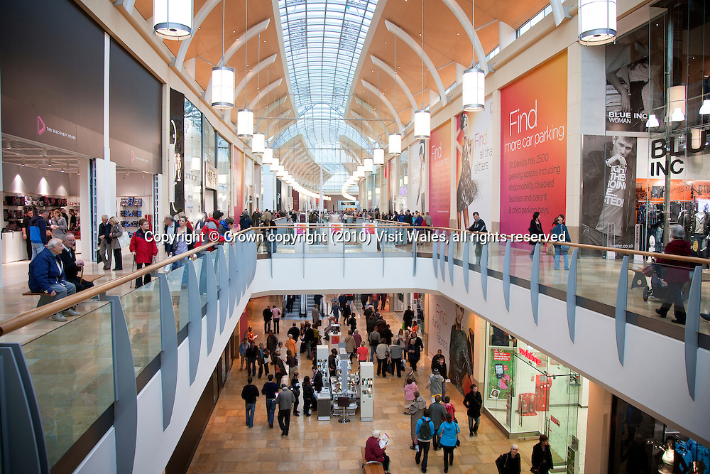 Shopping<br /> St David's 2<br /> Cardiff<br /> South<br /> Towns And Villages