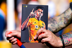 Match day programme for Wolverhampton Wanderers v Burnley with Morgan Gibbs-White of Wolverhampton Wanderers the cover star - Mandatory by-line: Robbie Stephenson/JMP - 25/08/2019 - FOOTBALL - Molineux - Wolverhampton, England - Wolverhampton Wanderers v Burnley - Premier League