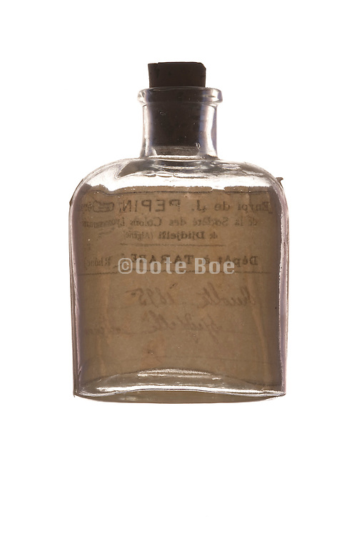 an old medicine bottle