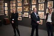 SERAPHINA EDMUNDS; ANDREW EDMUNDS; JIM CLAYTON, Frieze Masters, 3 October 2018