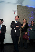 JEREMY HUNT; BARBARA JOBMANN, LA Philharmonic reception, Fountain room, Barbican. 27 January 2011 -DO NOT ARCHIVE-© Copyright Photograph by Dafydd Jones. 248 Clapham Rd. London SW9 0PZ. Tel 0207 820 0771. www.dafjones.com.