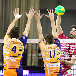 20161116: SLO, Volleyball - CEV Men Champions League, ACH Volley vs Arago de Sete