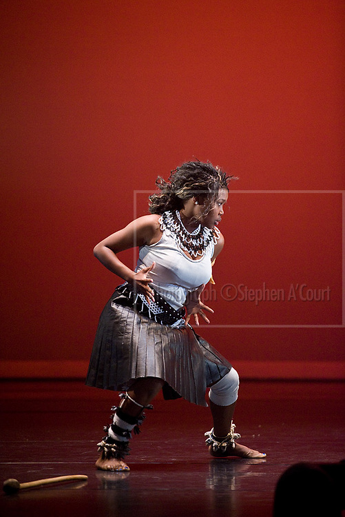Nkosinathi's Cultural Group performs Umzanzi, a dance performed by Zulu warriors whenever they had returned from war. Choreography, Nkosinathi Chamo.