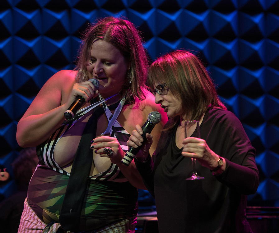 Bridget Everett and Patti LuPone