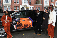 Sons of Kemet Hyundai car arrival