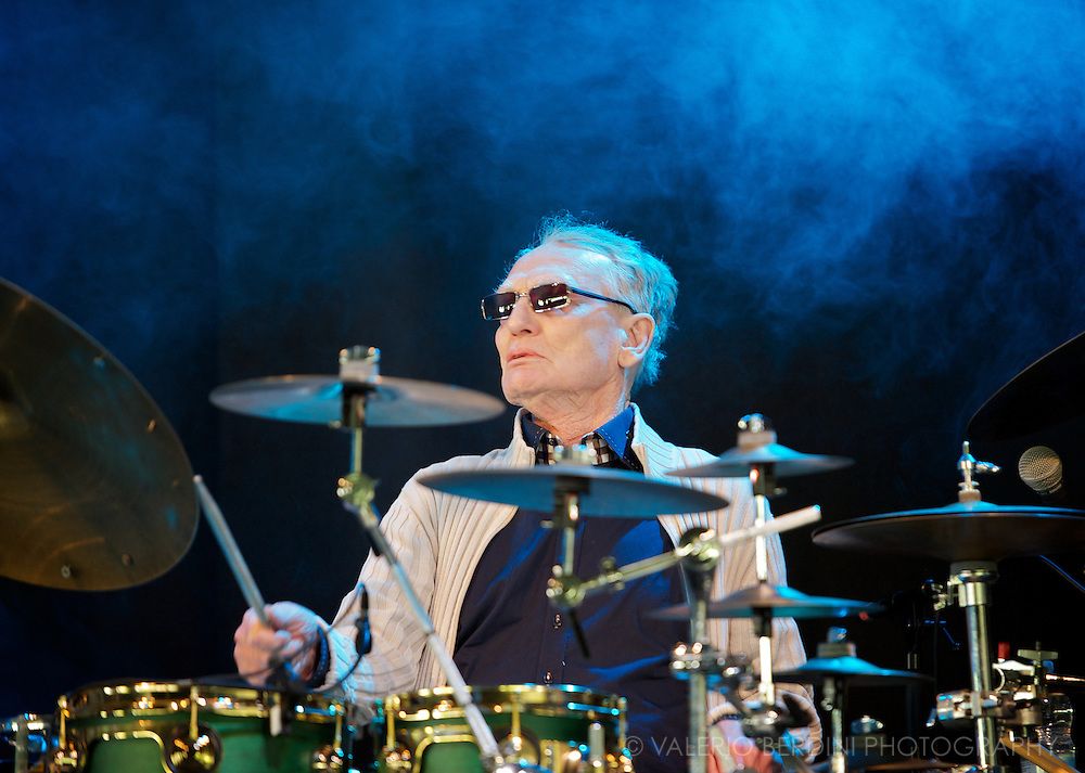 Ginger Baker Jazz Confusion at Field Day in London 25 may 2013 victoria park