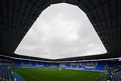 View inside the Madejski Stadium. - Photo mandatory by-line: Alex James/JMP - Mobile: 07966 386802 - 18/10/2014 - SPORT - Football - Reading - Madejski Stadium - Reading v Derby County - Sky Bet Championship