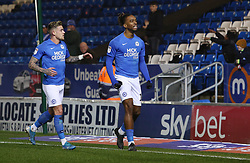 Ivan Toney of Peterborough United of celebrates scoring the opening goal of the game - Mandatory by-line: Joe Dent/JMP - 21/01/2020 - FOOTBALL - Weston Homes Stadium - Peterborough, England - Peterborough United v Wycombe Wanderers - Sky Bet League One
