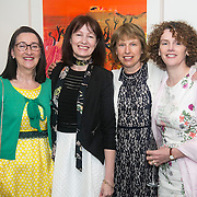 No Repro Fee<br /> 02/04/2015<br /> Picture at the Spinal Injuries Ireland Lunch at the Marker Hotel, Dublin were<br /> Rita Gibbons (left), Caroline Ahern, Liz Croxson and Bernie Kelly.<br /> Pic: Alan Rowlette