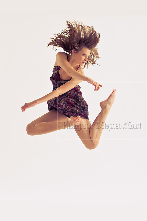 Photographs from a private portfolio-creation studio-session with dancers from the New Zealand School of Dance.