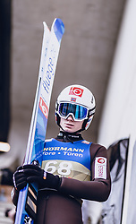 03.01.2020, Bergiselschanze, Innsbruck, AUT, FIS Weltcup Skisprung, Vierschanzentournee, Innsbruck, Qualifikation, im Bild Marius Lindvik (NOR) // Marius Lindvik of Norway before the qualification jump for the Four Hills Tournament of FIS Ski Jumping World Cup at Bergiselschanze in Innsbruck, Austria on 2020/01/03. EXPA Pictures © 2019, PhotoCredit: EXPA/ JFK