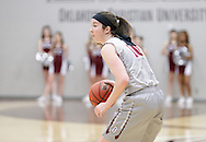 February 16, 2017: The Rogers State University Hillcats play against the Oklahoma Christian University Lady Eagles in the Eagles Nest on the campus of Oklahoma Christian University.