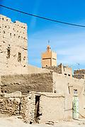 Rissani architecture, near Merzouga, Southern Morocco, 2015-06-09.