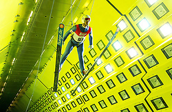 05.09.2014, Klima Wind Kanal, Wien, AUT, OESV, Nordische Kombination Skisprungtraining im Wind Kanal, im Bild Lukas Klapfer // during the Skijump training in the Climatic Wind Tunnel, Vienna, Austria on 2014/09/05. EXPA Pictures © 2014, PhotoCredit: EXPA/ Sebastian Pucher