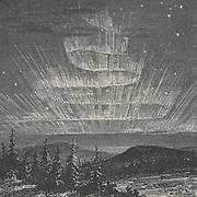 Aurora Borealis obsered in Alaska in 1868.