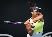 Heather Watson of Great Britain in action during her first round match at the 2020 Australian Open, WTA Grand Slam tennis tournament on January 22, 2020 at Melbourne Park in Melbourne, Australia - Photo Rob Prange / Spain ProSportsImages / DPPI / ProSportsImages / DPPI