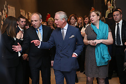 15.03.2016, Zagreb, CRO, der Britische Kronprinz Charles und seine Frau Camilla besuchen Kroatien, im Bild His Royal Highness the Prince of Wales attended the celebration of the 70th anniversary of the British Council in Croatia at the Museum of Arts and Crafts. EXPA Pictures © 2016, PhotoCredit: EXPA/ Pixsell/ Igor Kralj<br /> <br /> *****ATTENTION - for AUT, SLO, SUI, SWE, ITA, FRA only*****