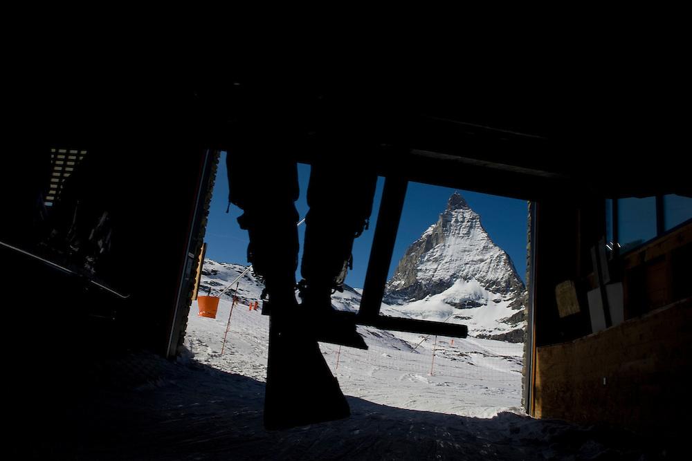 The Matterhorn from the Sandiger  Boden at 2786 meters