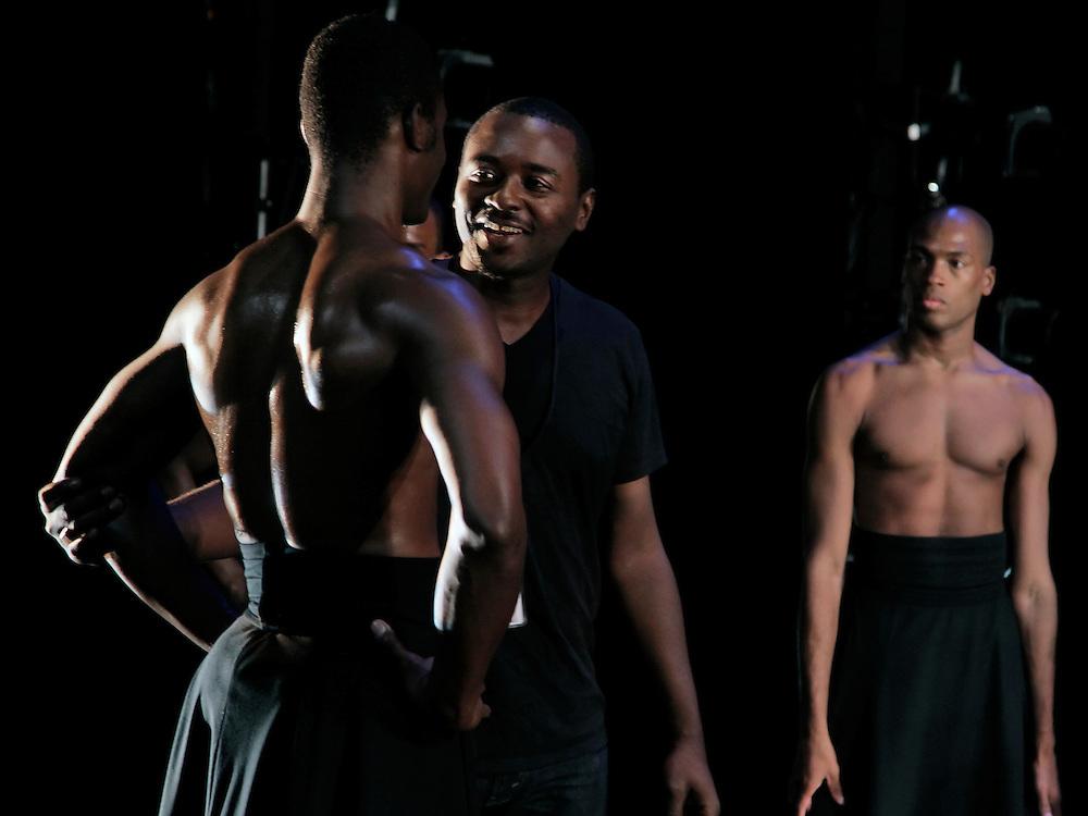 The Hunt.Alvin Ailey American Dance Theater.Choreography by Robert Battle.Credit photo: ©Paul Kolnik.paul@paulkolnik.com.nyc  212-362-7778