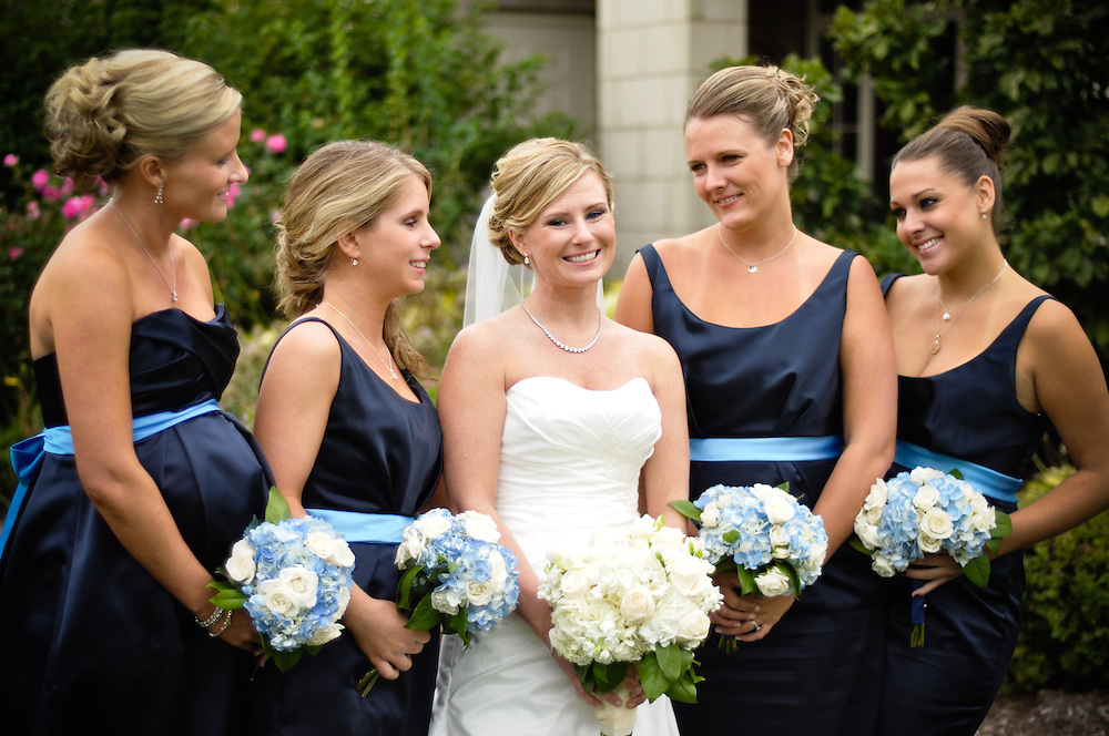 Anne & her bridesmaids, Crystal Tree Golf & Country Club, Chicago