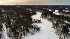 Eastman Duran Park - Winter Hike Drone