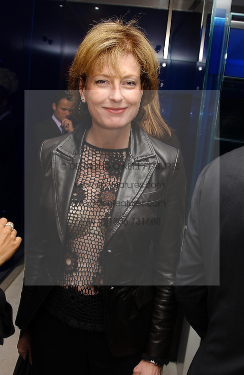 JULIA PEYTON-JONES at a dinner hosted by Cartier to celebrate the opening of the 2004 Frieze Art Fair, held at Yauacha 15-17 Broadwick Street, London W1 on 13th October 2004.<br /><br />NON EXCLUSIVE - WORLD RIGHTS