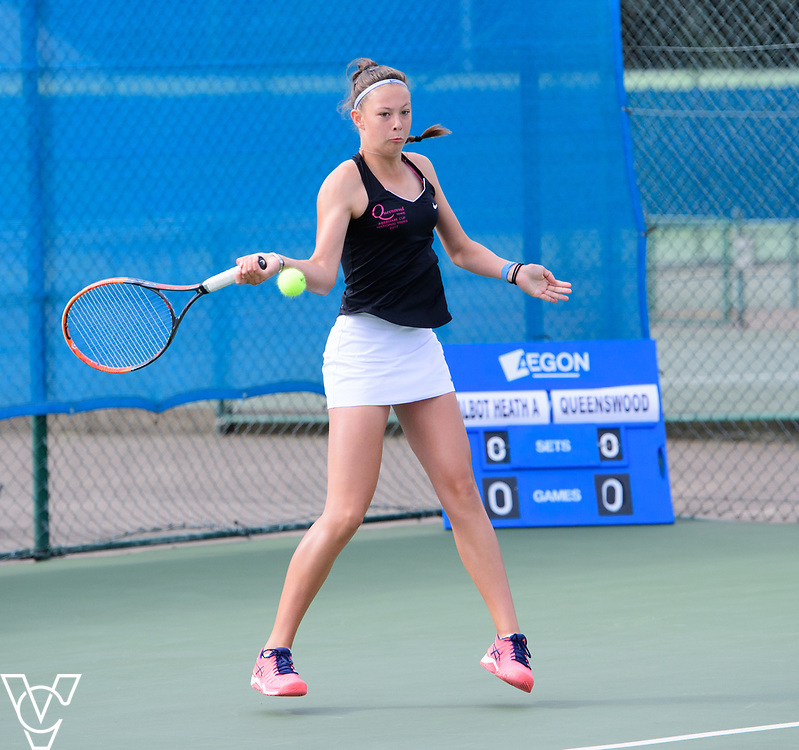 Aberdare Cup - Queenswood School [1] - Annabel Davis<br /> <br /> Team Tennis Schools National Championships Finals 2017 held at Nottingham Tennis Centre.  <br /> <br /> Picture: Chris Vaughan Photography for the LTA<br /> Date: July 14, 2017