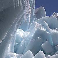 October 2009 WWF Everest melting of ice on the Khumbu Glacier