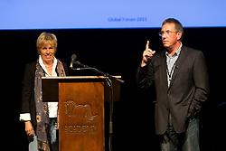 Training the judges by Katrina Wüst and Wim Ernes<br /> Global Dressage Forum<br /> Academy Bartels - Hooge Mierden 2011<br /> © Dirk Caremans