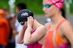 "Tjasa Vozel of Slovenia and Brina Cucnik of Slovenia during 43rd International Swimming meeting ""Telekom 2019"", on July 13, 2019 in Radovljica, Slovenia. Photo by Matic Klansek Velej / Sportida"