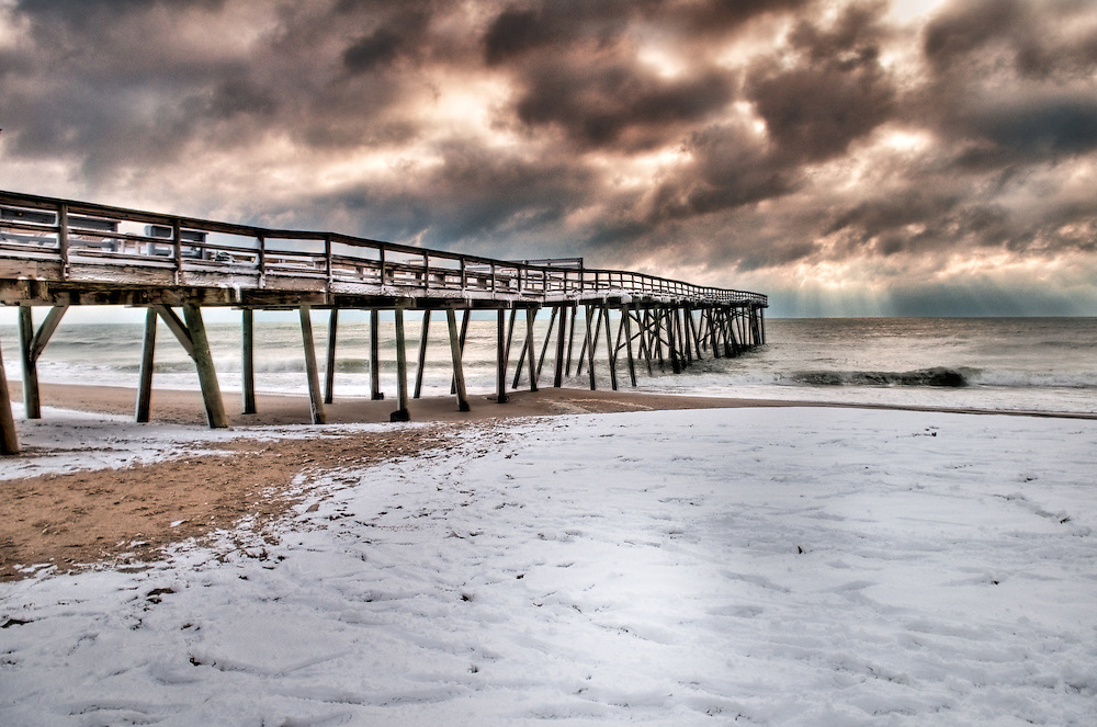 Crystal Pier, Winter
