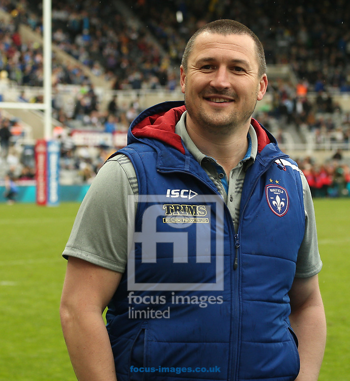Chris Chester (Coach) of Wakefield Trinity during the Betfred Super League match at the Dacia Magic Weekend at St. James's Park, Newcastle<br /> Picture by Stephen Gaunt/Focus Images Ltd +447904 833202<br /> 20/05/2017