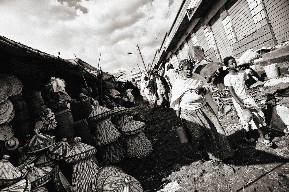 Addis Ababa the most large market in all Africa