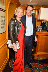 KALITA AL SWAIDI and ASH GRIFFITHS at the 2nd Bright Young Things Back In London party held at Annabel's, 44 Berkeley Square, London on 11th February 2016.