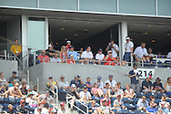Ole Miss vs. Texas Tech at T.D. Ameritrade Park in the College World Series in Omaha, Neb. on Tuesday, June 17, 2014. Ole Miss won 2-1.