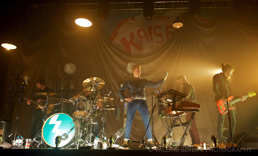 Kaiser Chiefs live at the Cambridge Corn Exchange on 27 February 2013