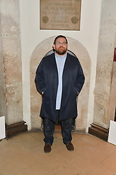 Actor NICK FROST at the Quintessentially Foundation and The Crown Estate's Fayre of St.James' on 27th November 2014.  The evening started with a christmas concert at St.James's Church, Piccadilly.  Following the concert singer Leona Lewis switched on the Jermyn Street Christmas lights and then guests had a party at the newly refurbished Quaglino's, 16 Bury Street, London
