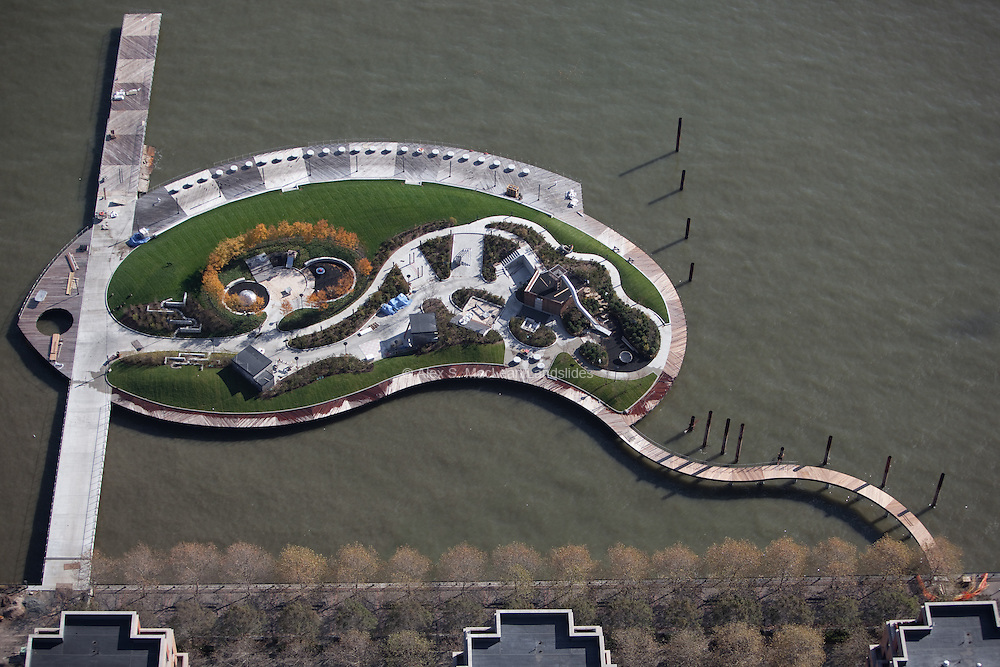 Pier C Park, Hoboken, NJ, Designed by Michael Van Valkenburgh Associates